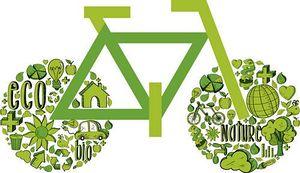 k14699183 green bike